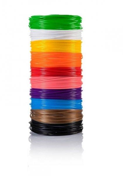 Náplně do 3D pera - mix 10 barev
