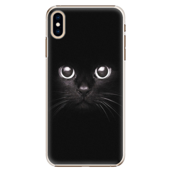 Plastové pouzdro iSaprio - Black Cat - iPhone XS Max