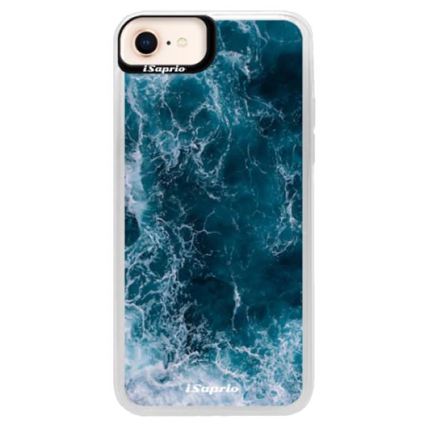 Neonové pouzdro Pink iSaprio - Ocean - iPhone 8