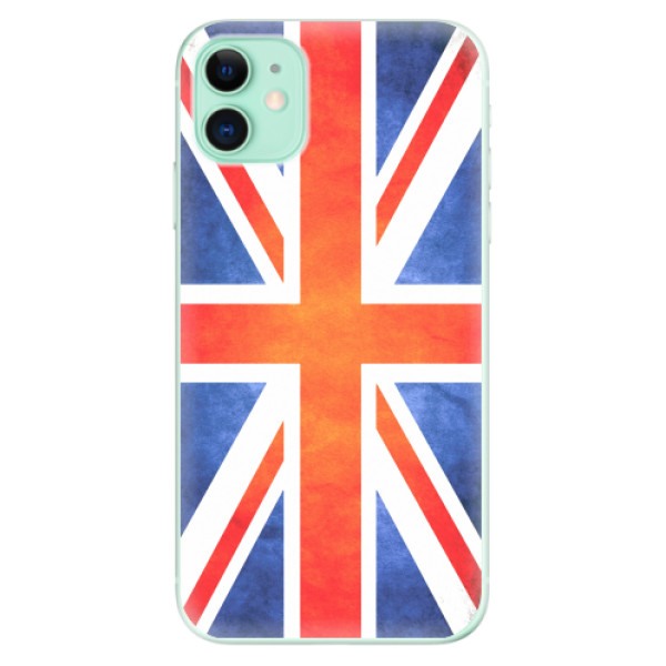 Odolné silikonové pouzdro iSaprio - UK Flag - iPhone 11