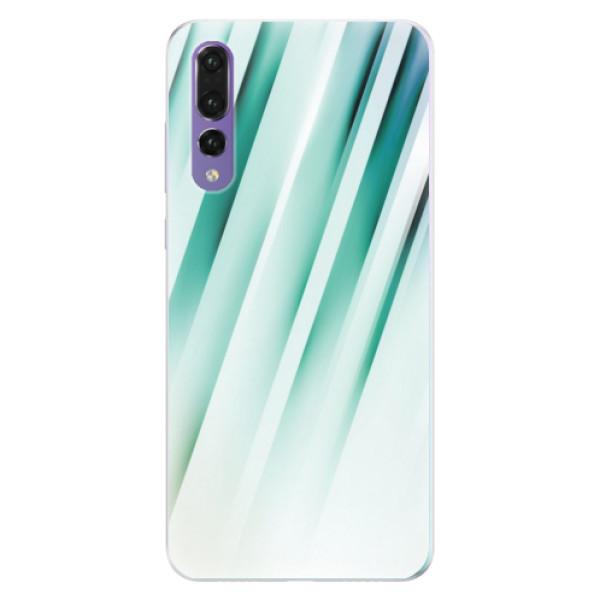 Silikonové pouzdro iSaprio - Stripes of Glass - Huawei P20 Pro