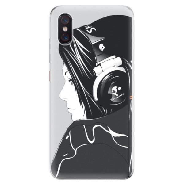 Odolné silikonové pouzdro iSaprio - Headphones - Xiaomi Mi 8 Pro