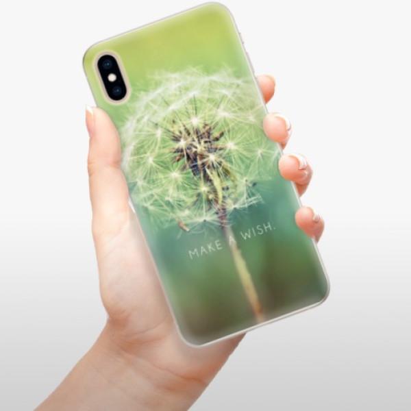 Silikonové pouzdro iSaprio - Wish - iPhone XS Max