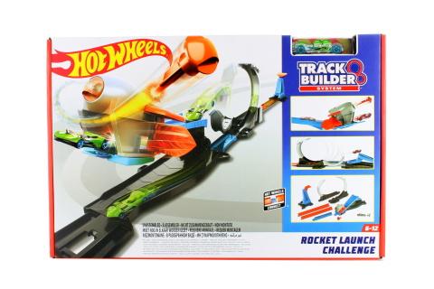 Hot Wheels Track Builder výzva se smyčkou FLK60