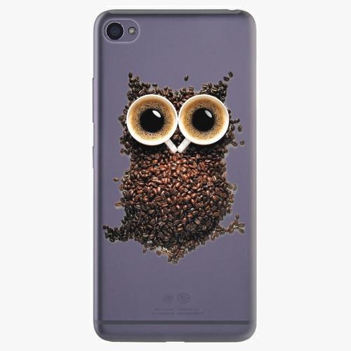Plastový kryt iSaprio - Owl And Coffee - Lenovo S90