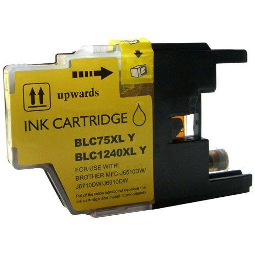 Inkoust LC1240Y XL kompatibilní žlutý pro Brother (10ml)