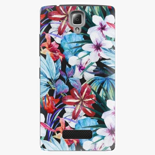 Plastový kryt iSaprio - Tropical Flowers 05 - Lenovo A2010