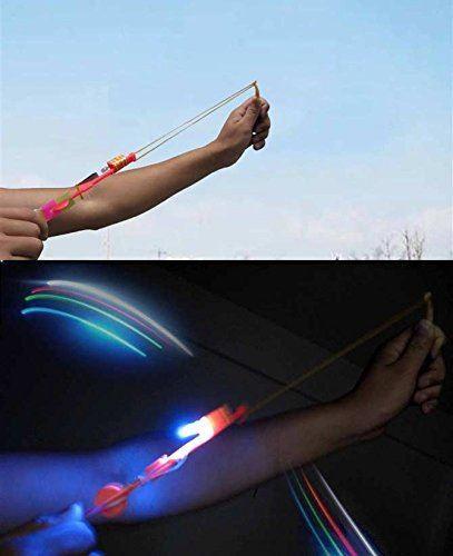 Vystřelovací vrtulky s LED osvětlením – balení 10ks