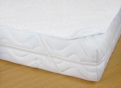 Matracový chránič s PVC - nepropustný - Typ/barva: Bílá - rozměry: - 90/200