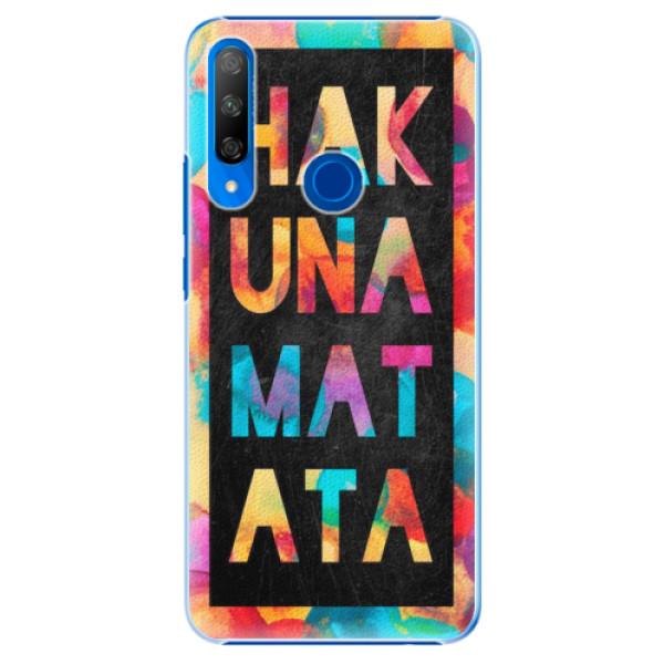 Plastové pouzdro iSaprio - Hakuna Matata 01 - Huawei Honor 9X