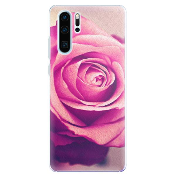 Plastové pouzdro iSaprio - Pink Rose - Huawei P30 Pro