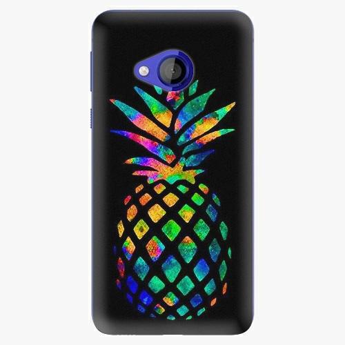 Plastový kryt iSaprio - Rainbow Pineapple - HTC U Play