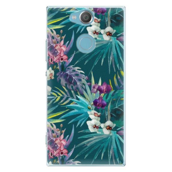 Plastové pouzdro iSaprio - Tropical Blue 01 - Sony Xperia XA2