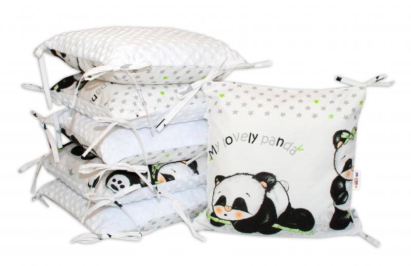 polstarkovy-mantinel-baby-nellys-panda-minky-bila