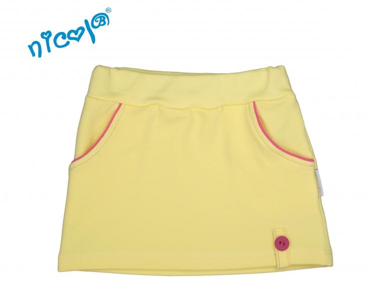 nicol-kojenecka-sukne-lady-zluta-vel-68-68-4-6m