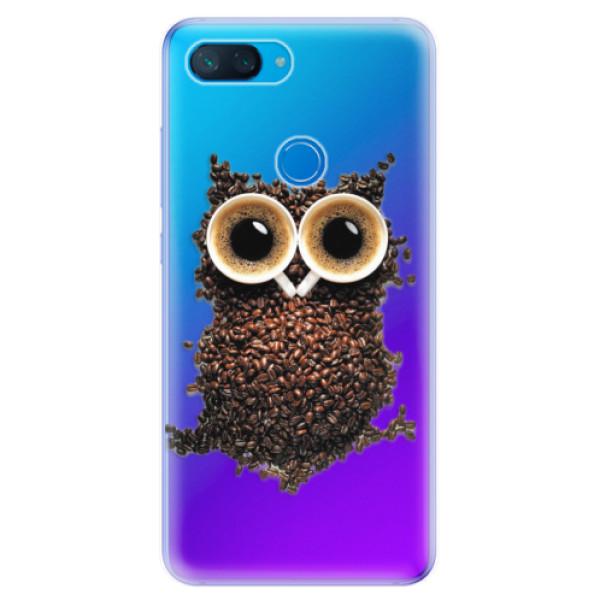 Odolné silikonové pouzdro iSaprio - Owl And Coffee - Xiaomi Mi 8 Lite