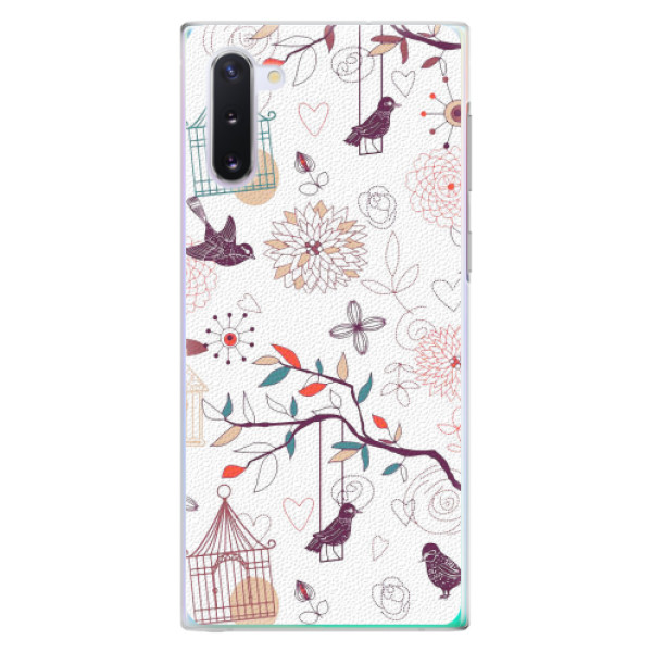 Plastové pouzdro iSaprio - Birds - Samsung Galaxy Note 10