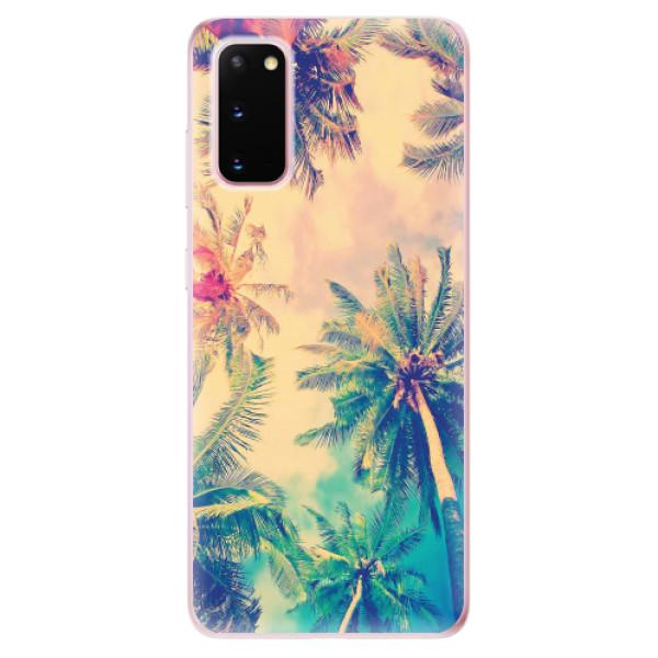 Odolné silikonové pouzdro iSaprio - Palm Beach - Samsung Galaxy S20