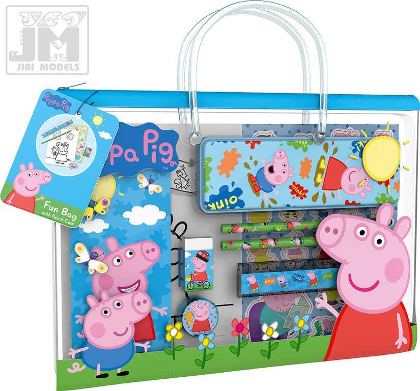 JIRI MODELS Taštička zábavná kreativní s penálem Peppa Pig