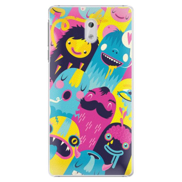 Plastové pouzdro iSaprio - Monsters - Nokia 3