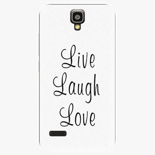 Plastový kryt iSaprio - Live Laugh Love - Huawei Ascend Y5