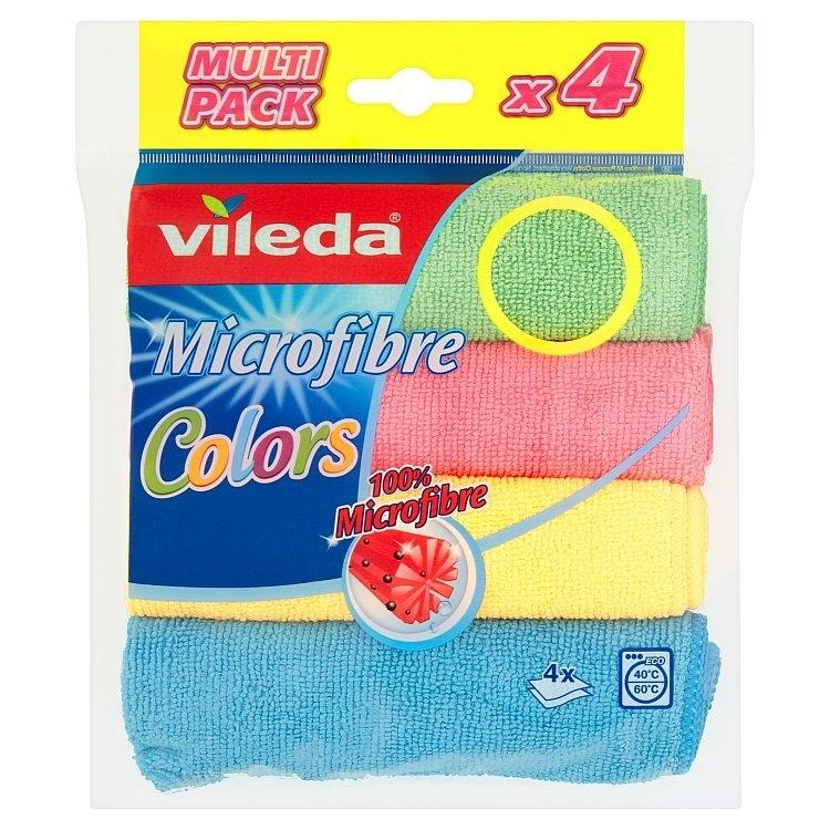 Vileda Colors univerzální mikrohadřík 4 ks/bal.