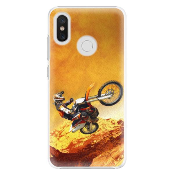 Plastové pouzdro iSaprio - Motocross - Xiaomi Mi 8
