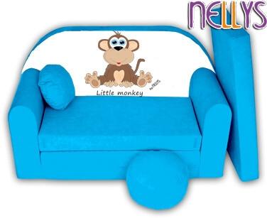 rozkladaci-detska-pohovka-little-monkey-nellys-modra