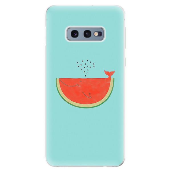 Odolné silikonové pouzdro iSaprio - Melon - Samsung Galaxy S10e