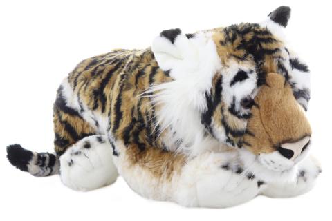 Plyš Tygr hnědý