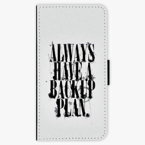 Flipové pouzdro iSaprio - Backup Plan - Samsung Galaxy S9 Plus