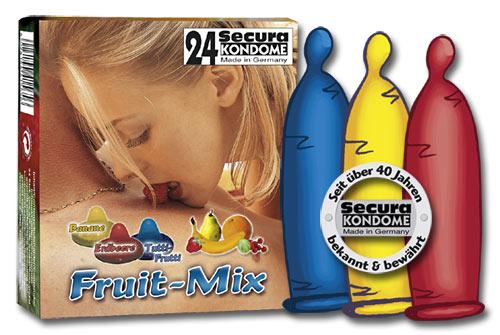 Kondomy s ovocnou příchutí