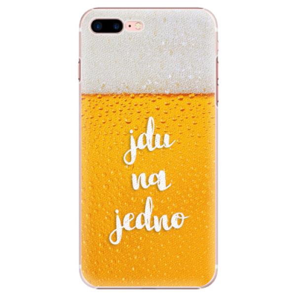 Plastové pouzdro iSaprio - Jdu na jedno - iPhone 7 Plus