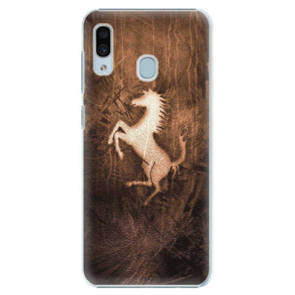 Plastové pouzdro iSaprio - Vintage Horse - Samsung Galaxy A20