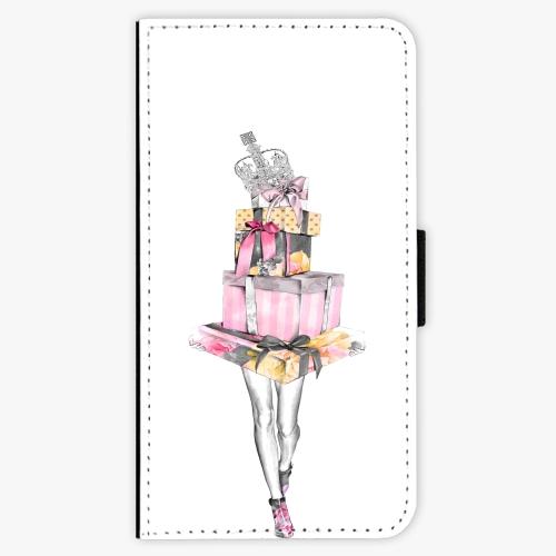 Flipové pouzdro iSaprio - Queen of Shopping - iPhone X