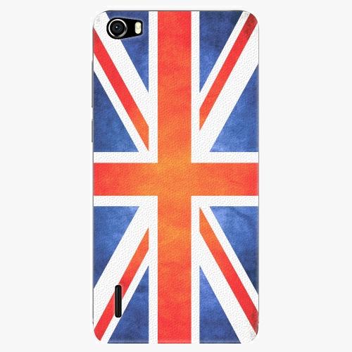 Plastový kryt iSaprio - UK Flag - Huawei Honor 6