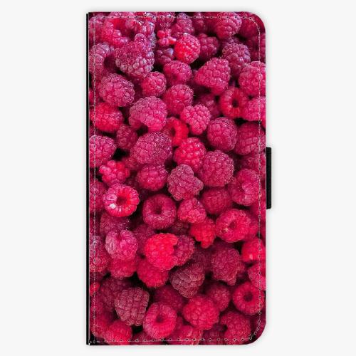 Flipové pouzdro iSaprio - Raspberry - Lenovo Moto G4 / G4 Plus