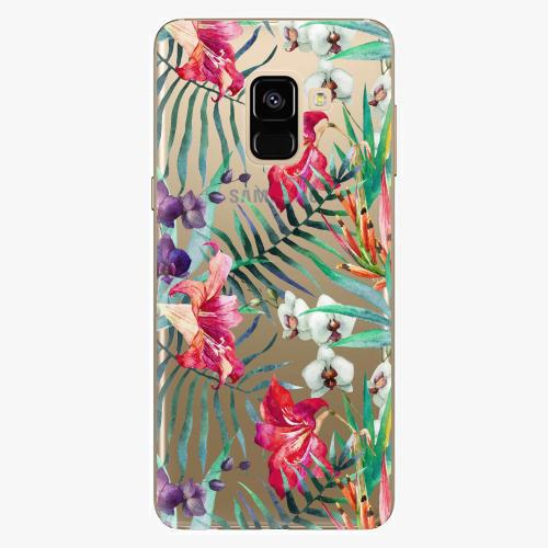 Plastový kryt iSaprio - Flower Pattern 03 - Samsung Galaxy A8 2018