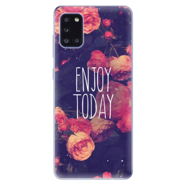 Odolné silikonové pouzdro iSaprio - Enjoy Today - Samsung Galaxy A31