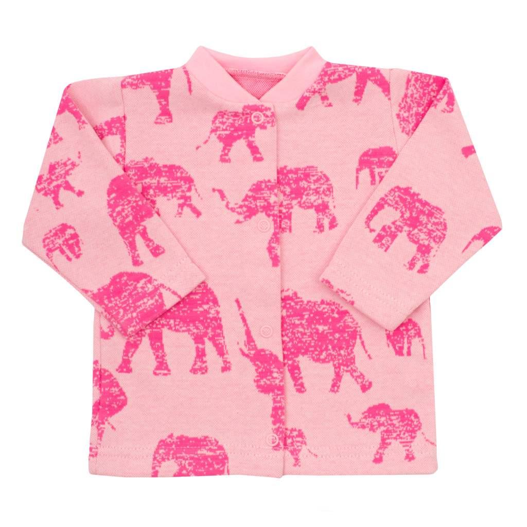 Kojenecký kabátek Baby Service Sloni