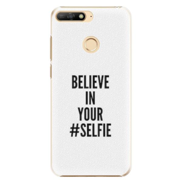 Plastové pouzdro iSaprio - Selfie - Huawei Y6 Prime 2018