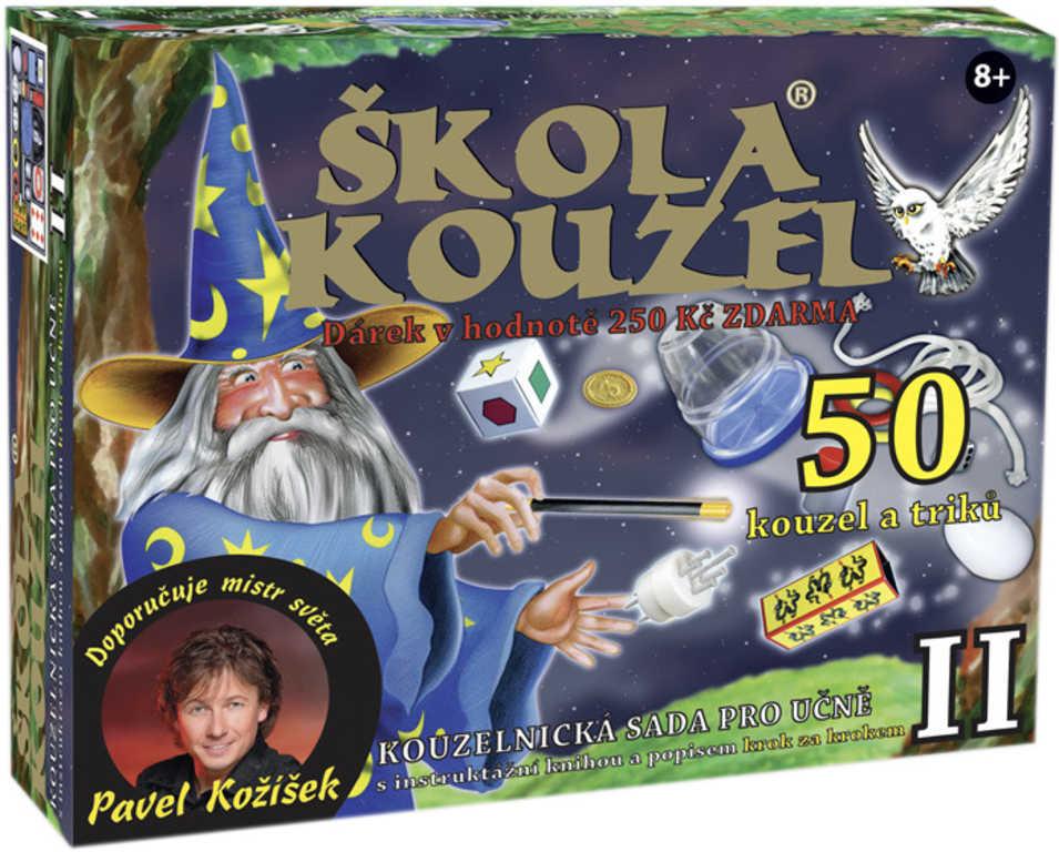 Škola kouzel pro učně 2 kouzelnická sada 50 kouzel a triků + Bonus ZDARMA !