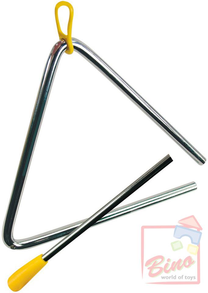 BINO Triangl kovový hudební nástroj