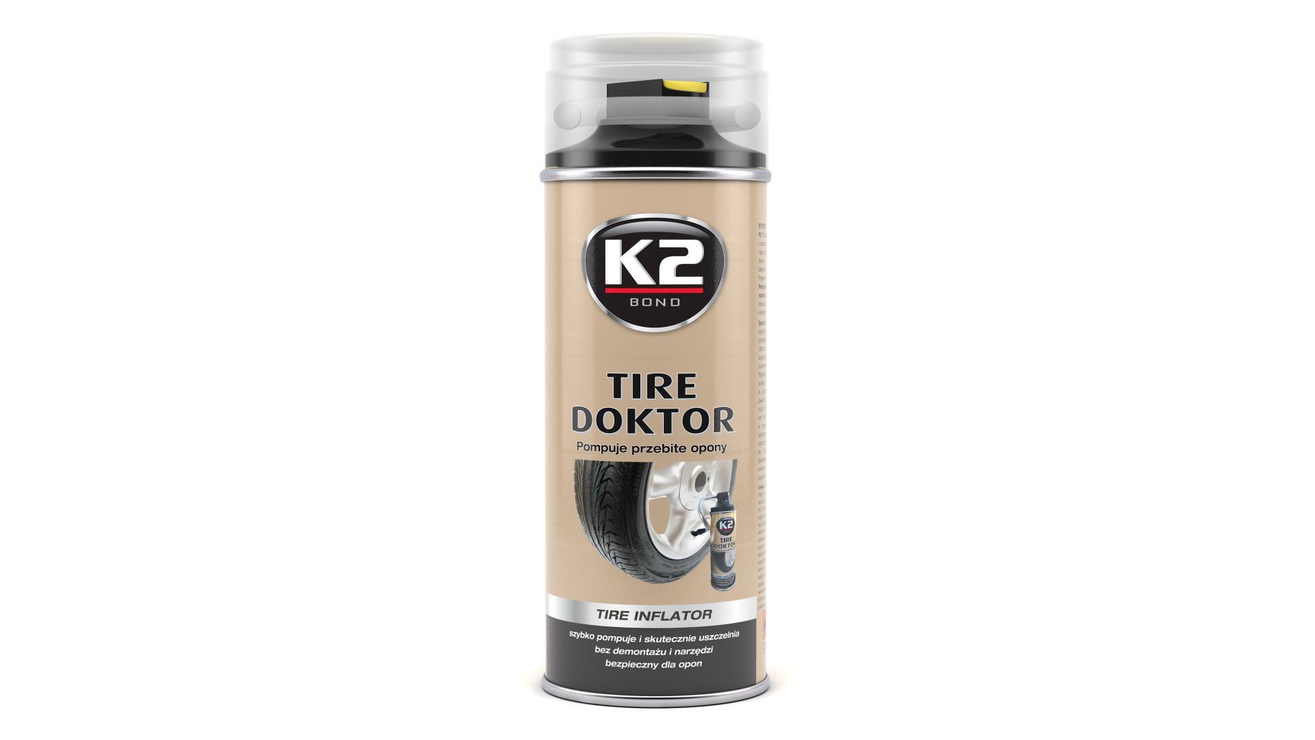 K2 TIRE DOCTOR 400ml
