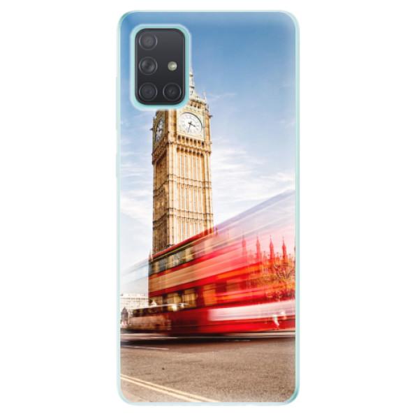 Odolné silikonové pouzdro iSaprio - London 01 - Samsung Galaxy A71