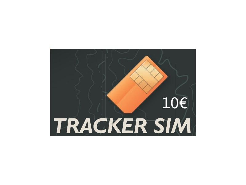 SIM karta do sledovacího GPS obojku G400 a G500 s kreditem 10€