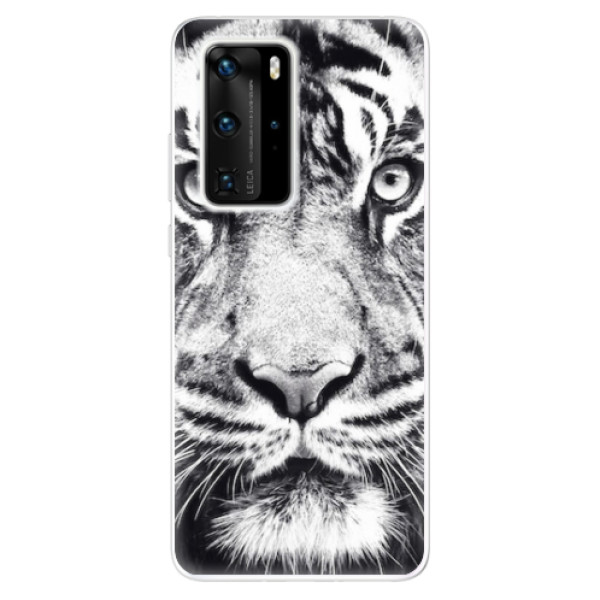 Odolné silikonové pouzdro iSaprio - Tiger Face - Huawei P40 Pro