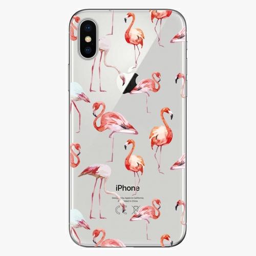 Plastový kryt iSaprio - Flami Pattern 01 - iPhone X