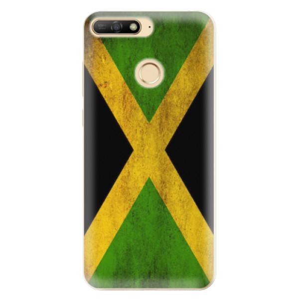 Odolné silikonové pouzdro iSaprio - Flag of Jamaica - Huawei Y6 Prime 2018