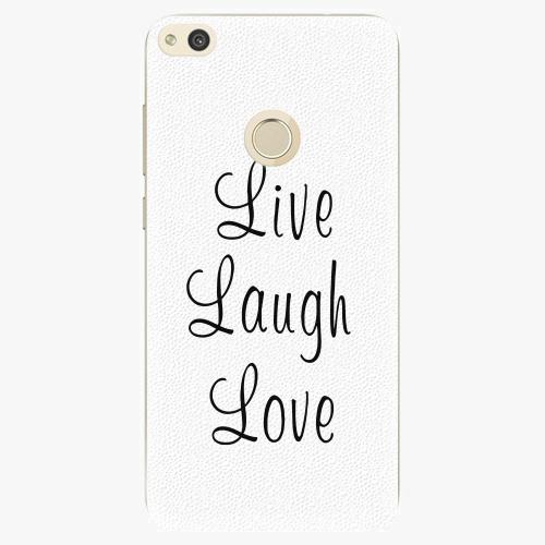 Plastový kryt iSaprio - Live Laugh Love - Huawei P8 Lite 2017